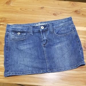 ($5 if bundles with 3 or more items) denim skirt